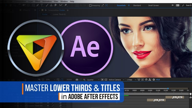 Master Lower Thirds Titles & Text Animation in After Effects