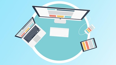 Responsive Web Design: HTML, CSS Angular, jQuery & Bootstrap
