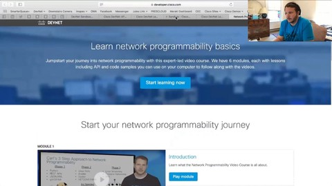 Net DevOps: Cisco  Python, Automation, NETCONF, SDN, Docker